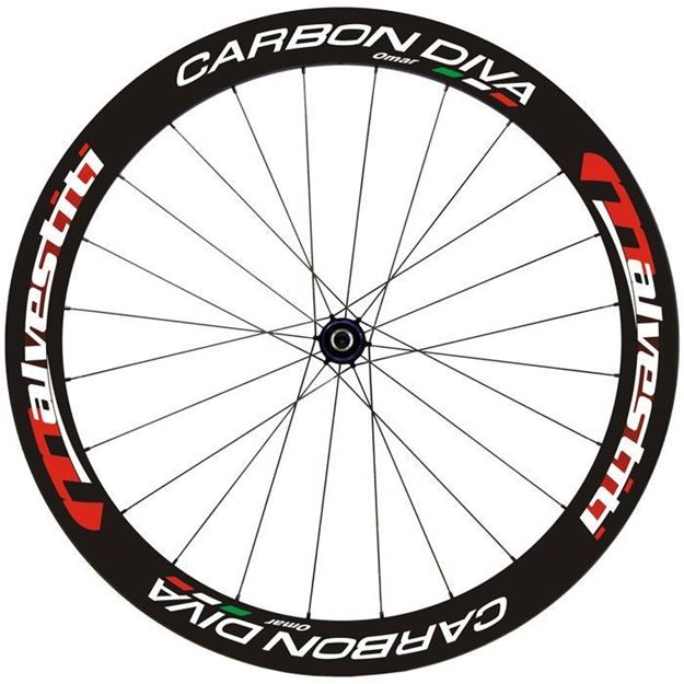 Carbon Diva Nero-Rosso