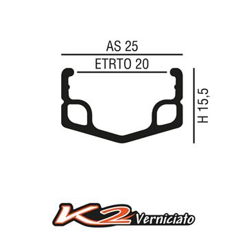 K2 Verniciato