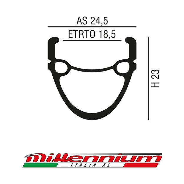 Millennium Italia XL