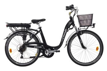 "Picture of CINZIA 26"" E-BIKE SFERA Lady Black"
